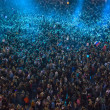 Crowd at concert — Foto Stock