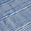 Snow corrugated texture - Stock Photo