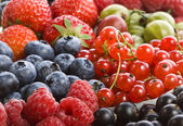 Mix ripe berries — Stock Photo