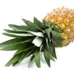 abacaxi fruta fresca, isolado no fundo branco — Foto Stock