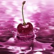 Cherry drink - Stock Photo