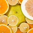 Citrus background — Stock Photo #15414687
