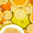 Citrus background — Stock Photo #15414691