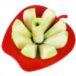 Stock Photo: Apple with cutter