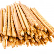 Crispy bread straw — Stock Photo