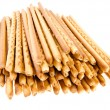 Crispy bread straw - Stock Photo