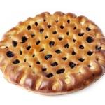 Jam tart isolated on the white background — Stock Photo #15417435