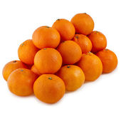 Orange mandarines heap — Stock Photo