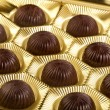 Chocolates candy in box — Stock Photo #15886855