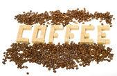 Sugar and grain coffee — Stock Photo