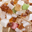 Sugar mixed collection — Stock Photo
