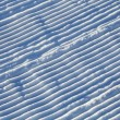 Snow corrugated texture — Foto Stock