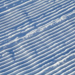 Snow corrugated texture — Stockfoto