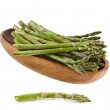 Asparagus isolated on a white background — Stock Photo