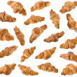 Collection of Croissant — Stock Photo