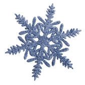 Christmas snowflake isolated on white background — Foto de Stock
