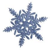 Kerstmis sneeuwvlok geïsoleerd op witte achtergrond — Stockfoto