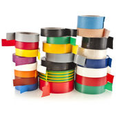 Colored adhesive tape roll — Foto de Stock