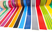 Colored adhesive tape roll — Stockfoto