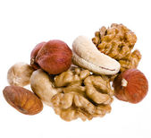 Mix nuts — Stockfoto