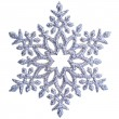 Snowflake shape decoration isolated — Stock Photo