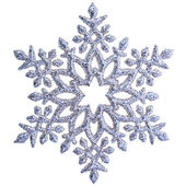 Snowflake shape decoration isolated — Foto de Stock
