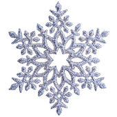 Sneeuwvlok vorm decoratie geïsoleerd — Stockfoto