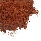 Coffee powder isolated on the white background — Stock Photo