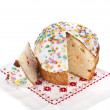 Easter bread cake - Stock Photo