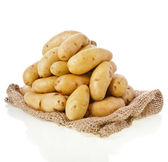 Ratte potatoes — Stock Photo