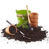 Outils de jardinage — Photo