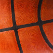 Basketball ball detail leather texture background — Stock Photo
