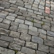 Stock Photo: Sett bricks, texture or background, stone pavement