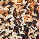 Mixed Rice Surface Close up Macro Texture — Stock Photo #28462443