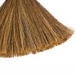 Broom isolated on white background — Stock Photo