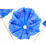 Cocktail Umbrella isolated against white background — Stock Photo #31700335