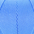 Blue Clew of twine surface close up macro texture background — Foto de Stock