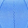 Blue Clew of twine surface close up macro texture background — Photo #31700663