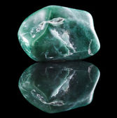 Jadeite mineral stone close up — Stock Photo