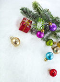 Merry christmas , Happy new year card — Stok fotoğraf