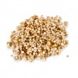Quinoa seed grain close up macro shot isolated on a white background — Stock Photo