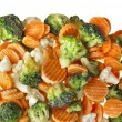 Mixed Frozen various vegetables — ストック写真