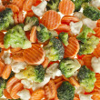 Mixed Frozen various vegetables — Stock Photo #41480741
