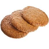 3 つのアーモンド クッキー — ストック写真
