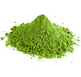 Powdered green powder hill — Stock Photo