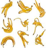 Bananas Skin Set — Stock Photo