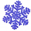 Snowflake shape decoration — Stock Photo #42052203