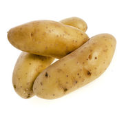 Ratte potatoes heap — Stock Photo
