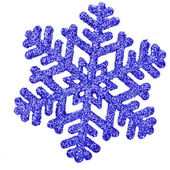 Snowflake shape decoration — Stock Photo