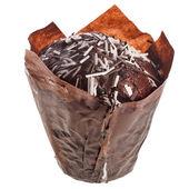 Chocolate Muffin in paper — Foto de Stock